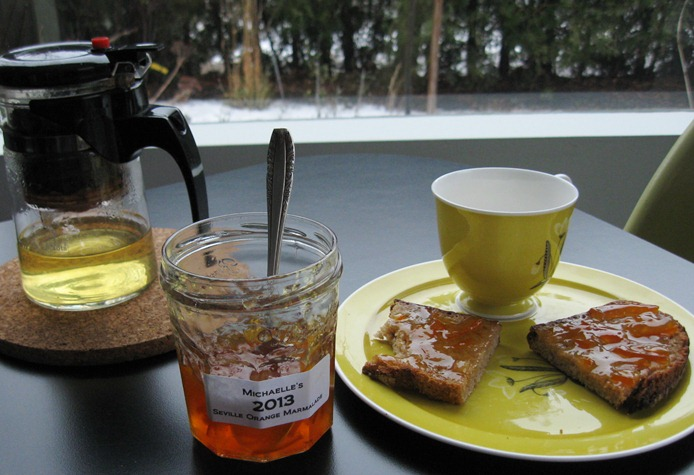 Tea and marmalade