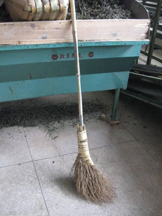 Broom Zhenge White Tea Factory