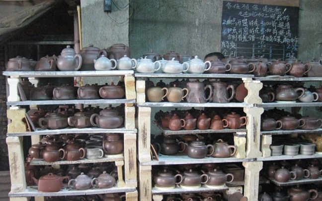 Tea Tour: Yixing tea pots