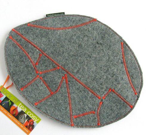 Handmade modern eco design recycle trivet