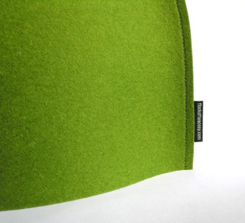 Moss Green sleek tea cozy by Flock of Tea Cosy