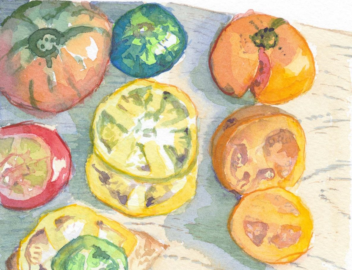 SOLD Summer Tomatoes