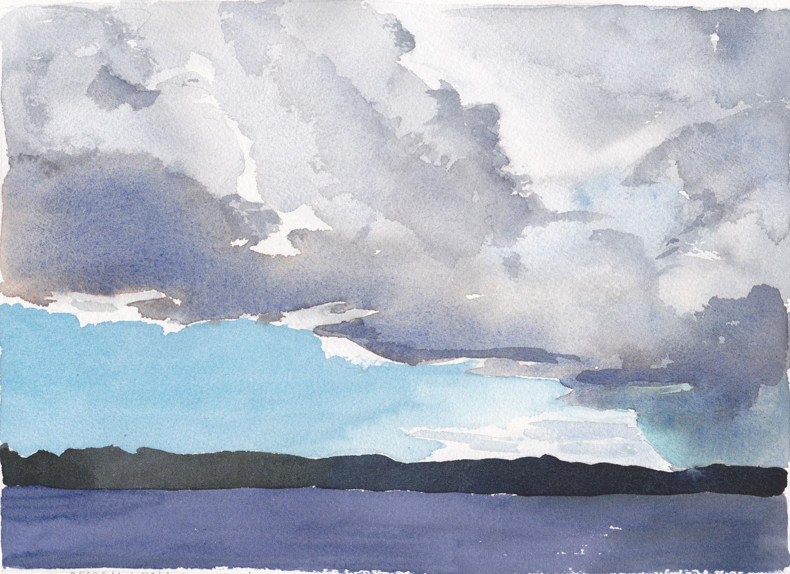 SOLD Georgian Bay, rain coming